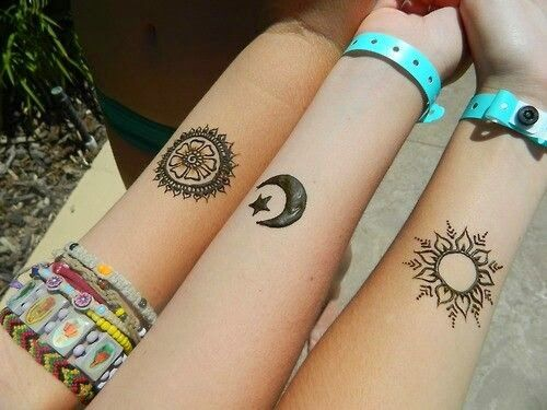 50 Tatuajes increibles del sol y la luna.