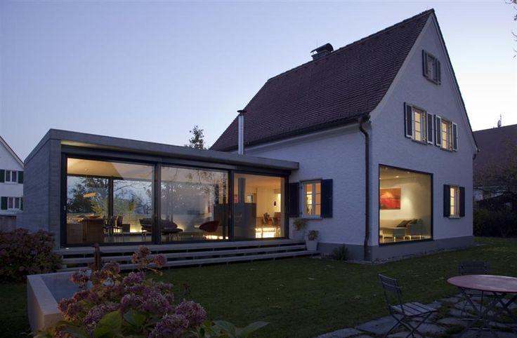Anbau Siedlungshaus – Ideen für #Hausbau und #Woh…