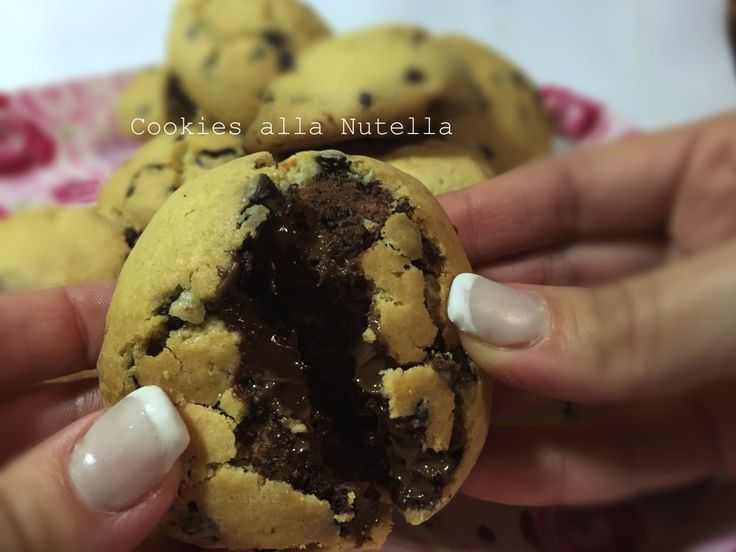 Cookies alla Nutella super golosi