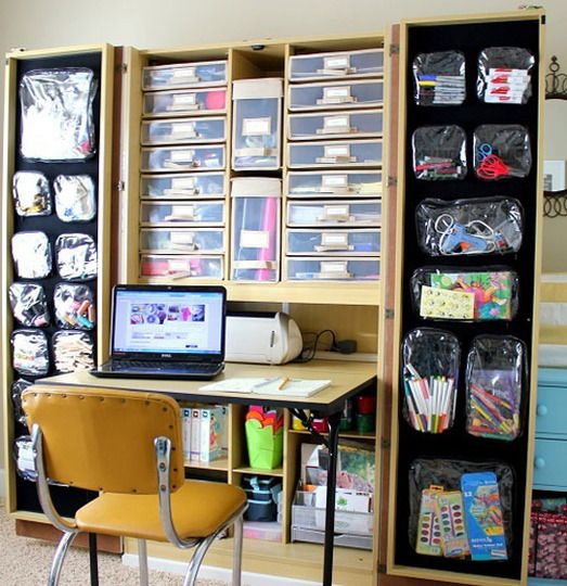 Brandy's All In One Home Office, Craft Space, and Guest Room DeskTops