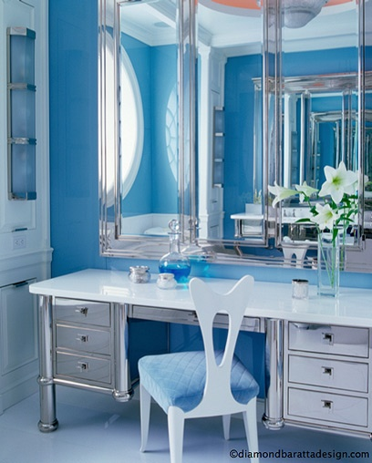 #diamond baratta design | More boudoir lusciousness at http://mylusciouslife.com/walk-in-wardrobes-closets-dressing-rooms-boudoirs/