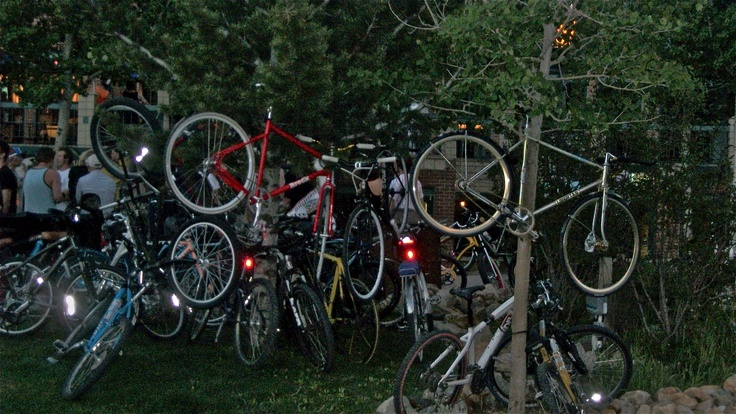 a night of bikes drinks and friends