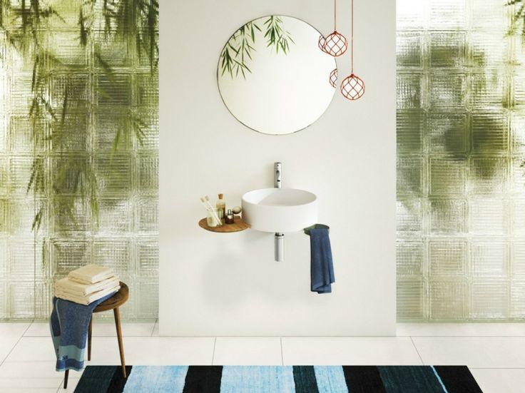 badezimmer waschbecken cellule modell ist perfekt auch fr kleine badezimmer - Sandsteinfliesen Fuer Bad