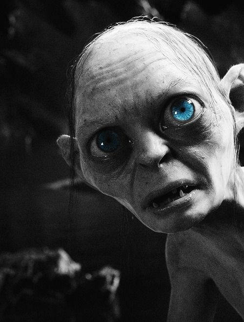 The Lord Of The Rings Animated Gollum