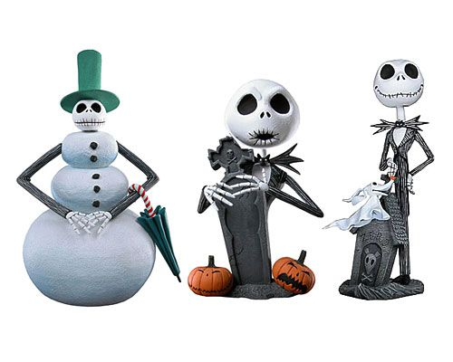 Набор мини-башкотрясов Джек Скеллингтон - Кошмар перед Рождеством