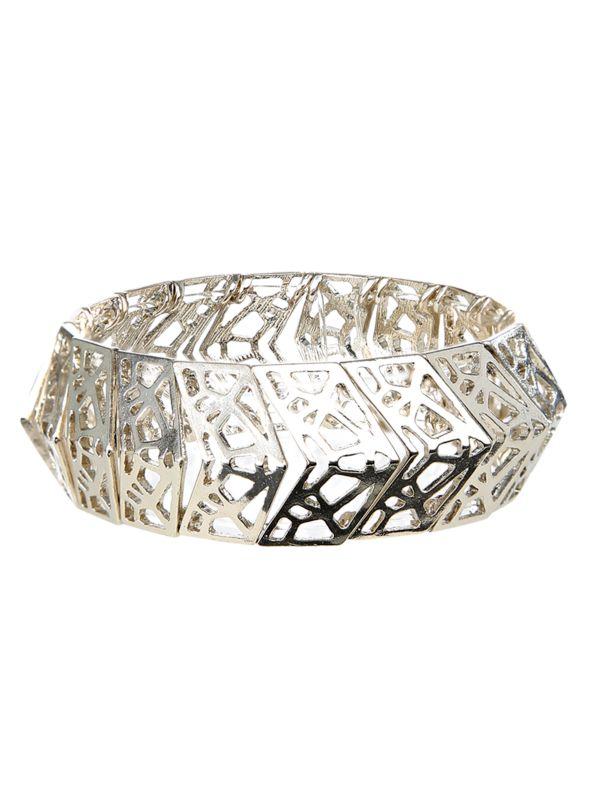 Triangle Cut-out Bracelet