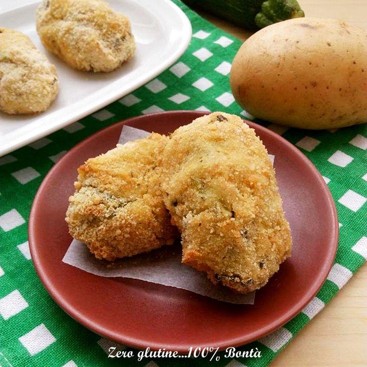 Crocchette di patate e zucchine al forno