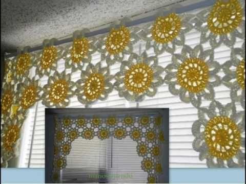 cortinas de estilo clásico y moderno tejidas - YouTube