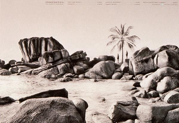 Seychelles tourism advert 2011   Created by Johannesburg ad agency TBWAHuntLascaris and photographed by Mike Lewis.