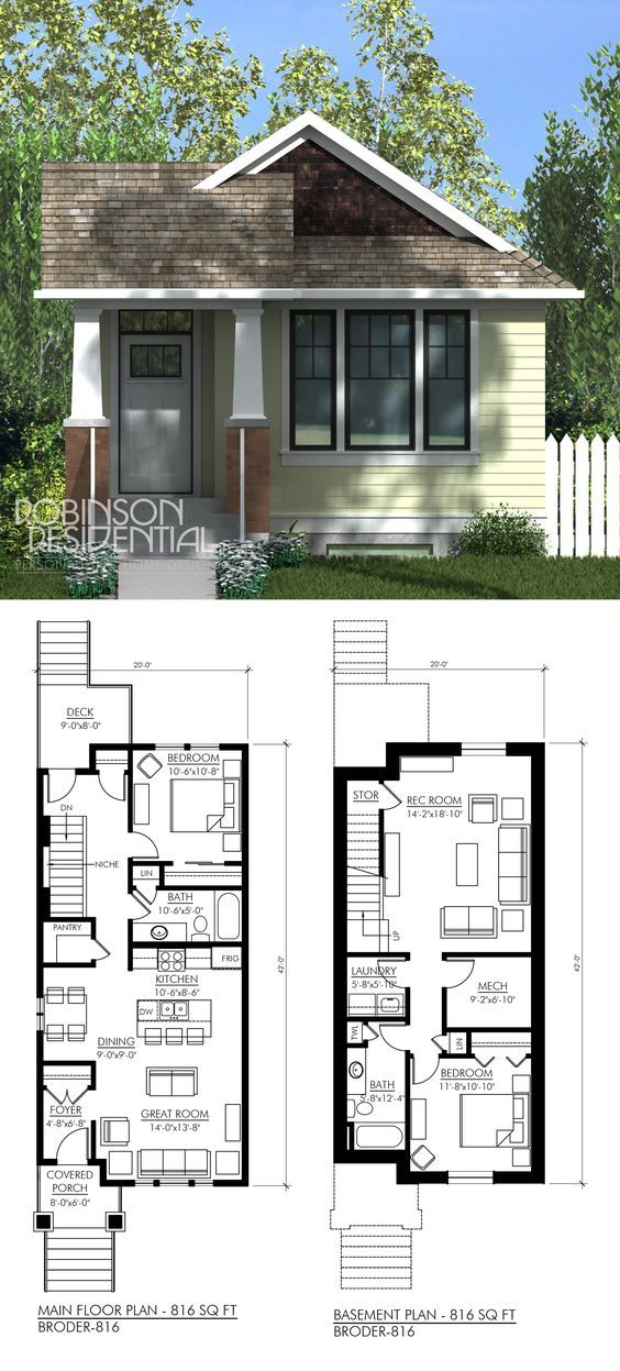 Mod basement to have 2 bedrooms no rec room House plans