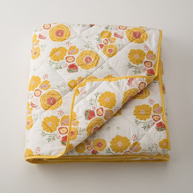 Floral Quilt from Schoolhouse Electric & Supply Company -- LOVE
