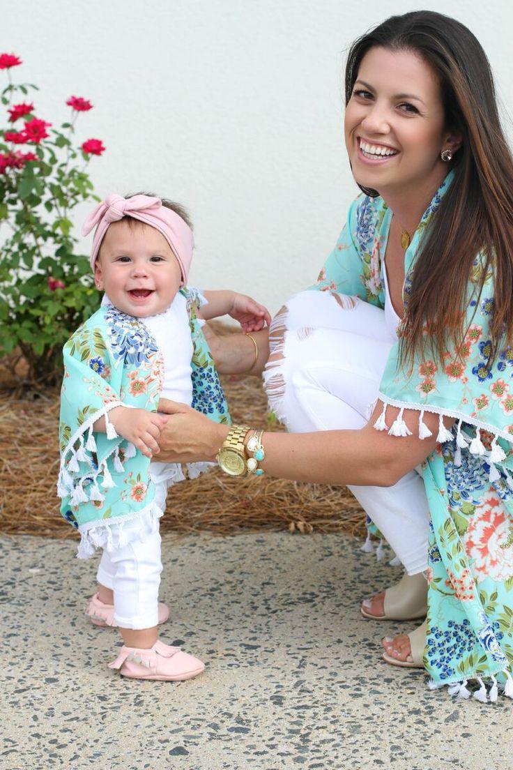 mother daughter matching kimono