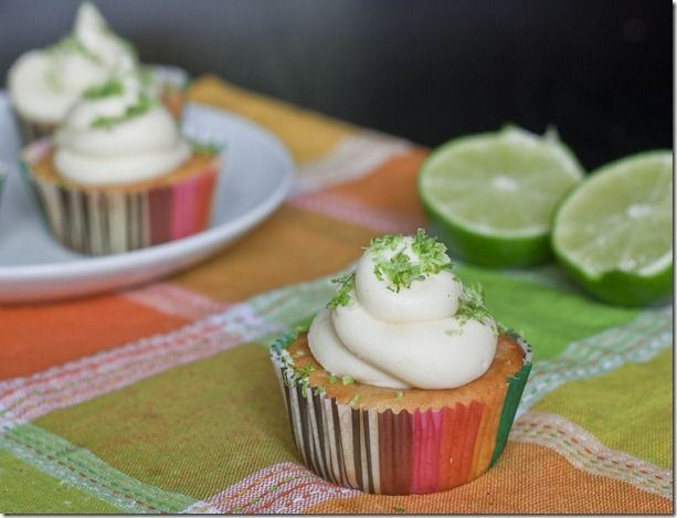 Gluten Free Lime in the Coconut Cupcakes Recipe