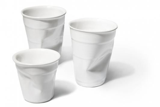 Love these crushed cups from Rob Brandt