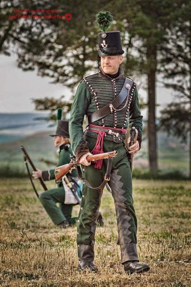 """Ufficiale del 95 rgt. """"Rifles"""" inglese"""