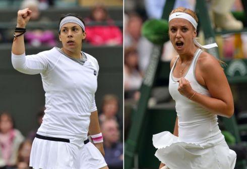 Финал Уимблдона 2013: Сабина Лисицки vs. Марион Бартоли - сделать ставку на теннис онлайн на www.ringobet.com