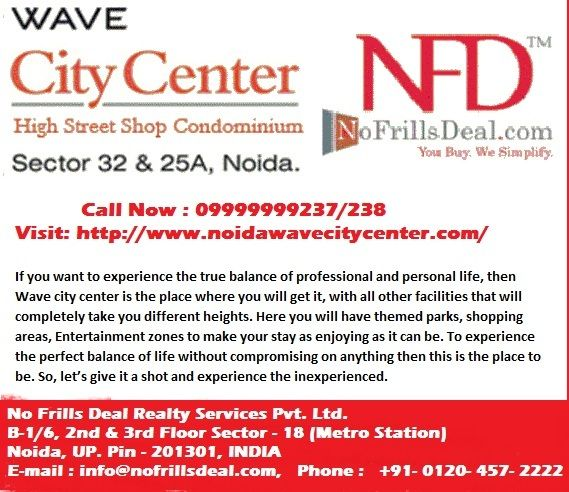 Wave City Center Noida offering to you 1/2/3/4 BHK Residential Apartments.  Call: +91-9999999238, Wave City Centre Noida has an excellent openness from all points. Visit: http://www.noidawavecitycenter.com/