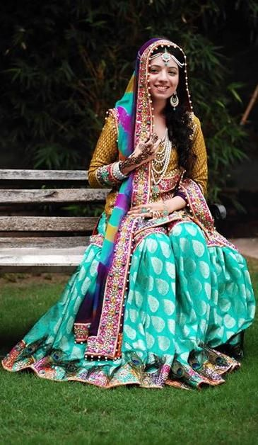 Pakistani mehni dress  #MuslimWedding, #PerfectMuslimWedding, #IslamicWedding, www.PerfectMuslimWedding.com