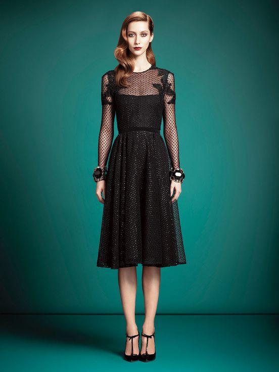 Pré-collections automne /hiver   Gucci  La petite robe noire