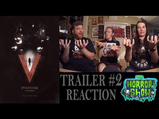 """""""Phantasm V: Ravager"""" Trailer #2 Reaction - The Horror Show"""