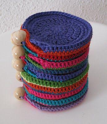Portamonete a uncinetto di Lady Crochet - Istruzioni in Italiano