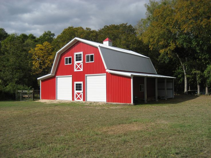14 best images about building ideas on pinterest for Red barn prefab
