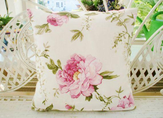 Encantar a su casa este minuto en un cottage inglés clásico romántico, Rosa Rosen y Kissen.Der de glicina es encanto de estilo Schönheit.Letztes imagen vista trasera, con cremallera oculta. Los patrones no levemente diferentemente en cada referencia según el corte de la tela.  Tamaño: 40x40cm Ajustes de almohada 40 x 40 cm Sin almohada interior del cojín  Material: 80% algodón, 20% poliéster Sólido Color: Blanco, tonos rosados, verdes en razón de Wollweißem  Método de producción cosida
