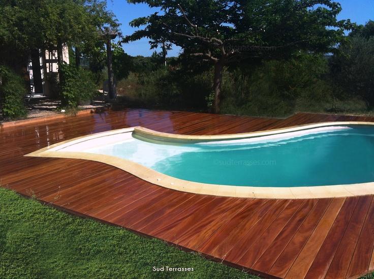 Les 13 meilleures images du tableau terrasse piscine sur - Piscine bois de reves asnieres sur seine ...