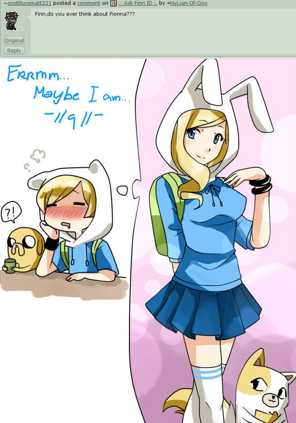finn x fionna fanfiction - photo #22