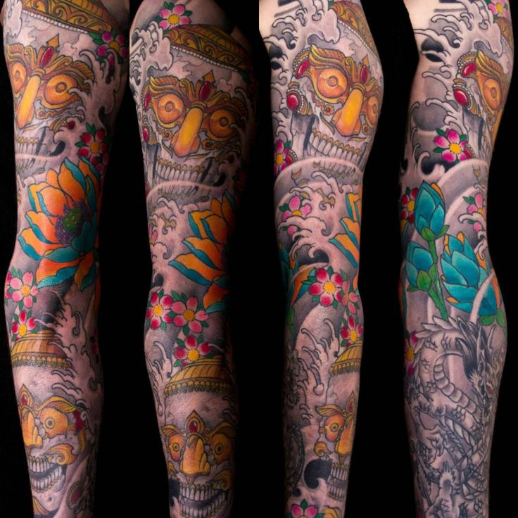 Sleeve tattoos best tattoo ideas designs part 22 for Arm mural tattoos