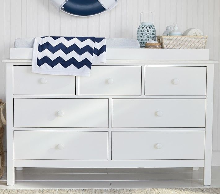 Kendall Extra Wide Dresser & Topper Set