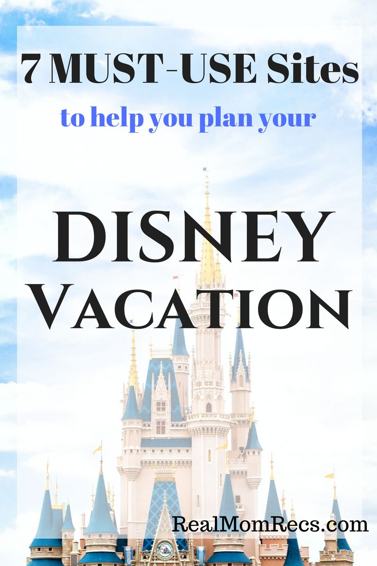 Disney vacation planning!  7 MUST-USE sites to help you plan your trip to Walt Disney World.  Essential!