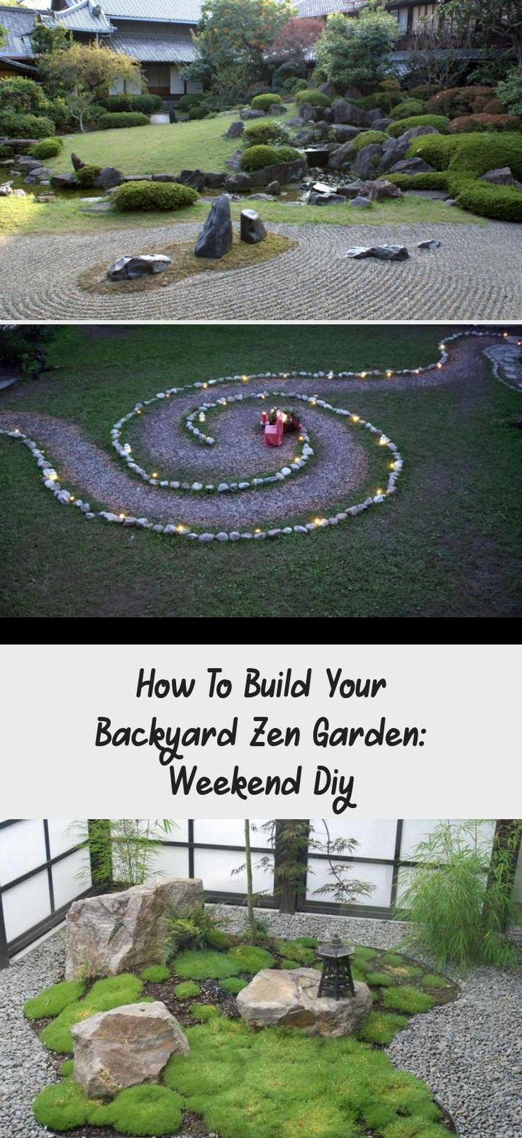 How To Build Your Backyard Zen Garden: Weekend Diy in 2020 ...
