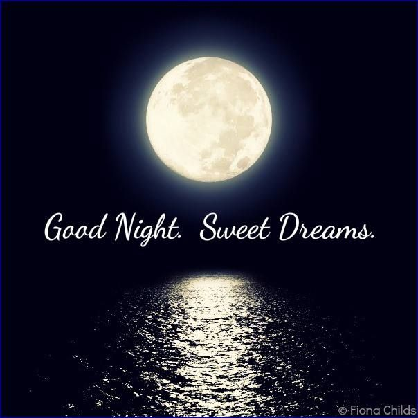 Good Night Wallpaper: Good NIght, Sweet Dreams (from Fiona Childs)