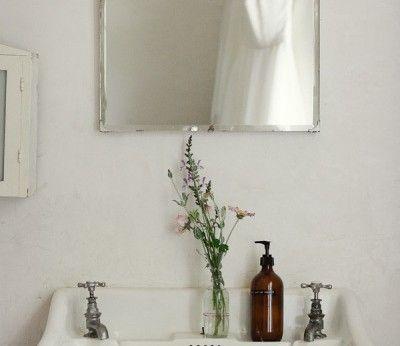 Low-budget badkamer in Scandinavische stijl