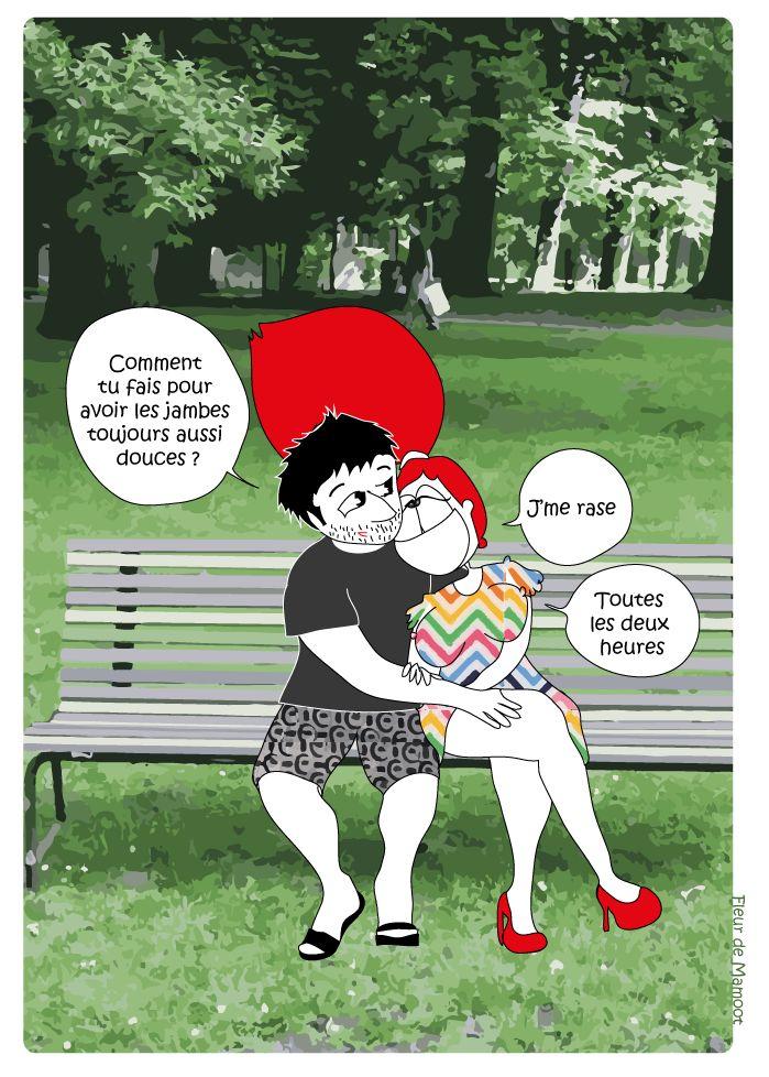 Peau douce - Relation amoureuse - Fleur de Mamoot