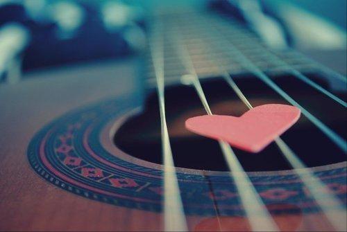 #guitar #music #heart