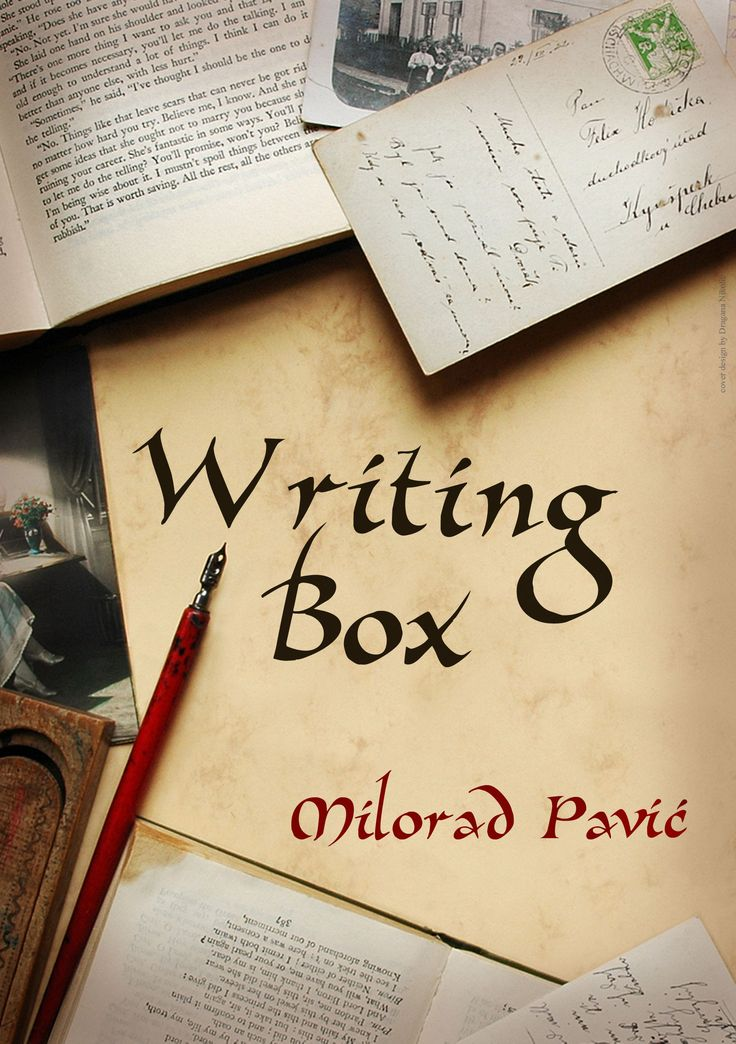 AUDIOBOOK RIGHTS TO THE WRITING BOX BY MILORAD PAVIC SOLD TO RUSSIA