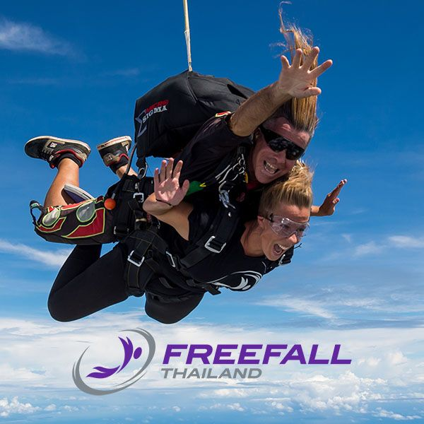Welcome to Freefall Thailand, the skydiving center offering Asia's best and highest tandem and sport skydives from 14,000 feet. Experience your jump with us!