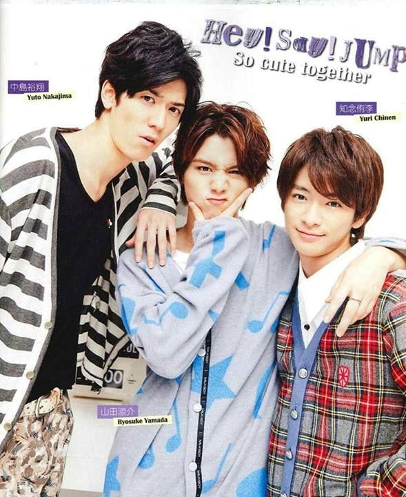 Nakajima Yuto, Yamada Ryosuke, Chinen Yuri : hey say jump