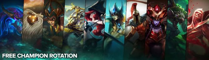cool Free Champion Rotation, Week of June 20th