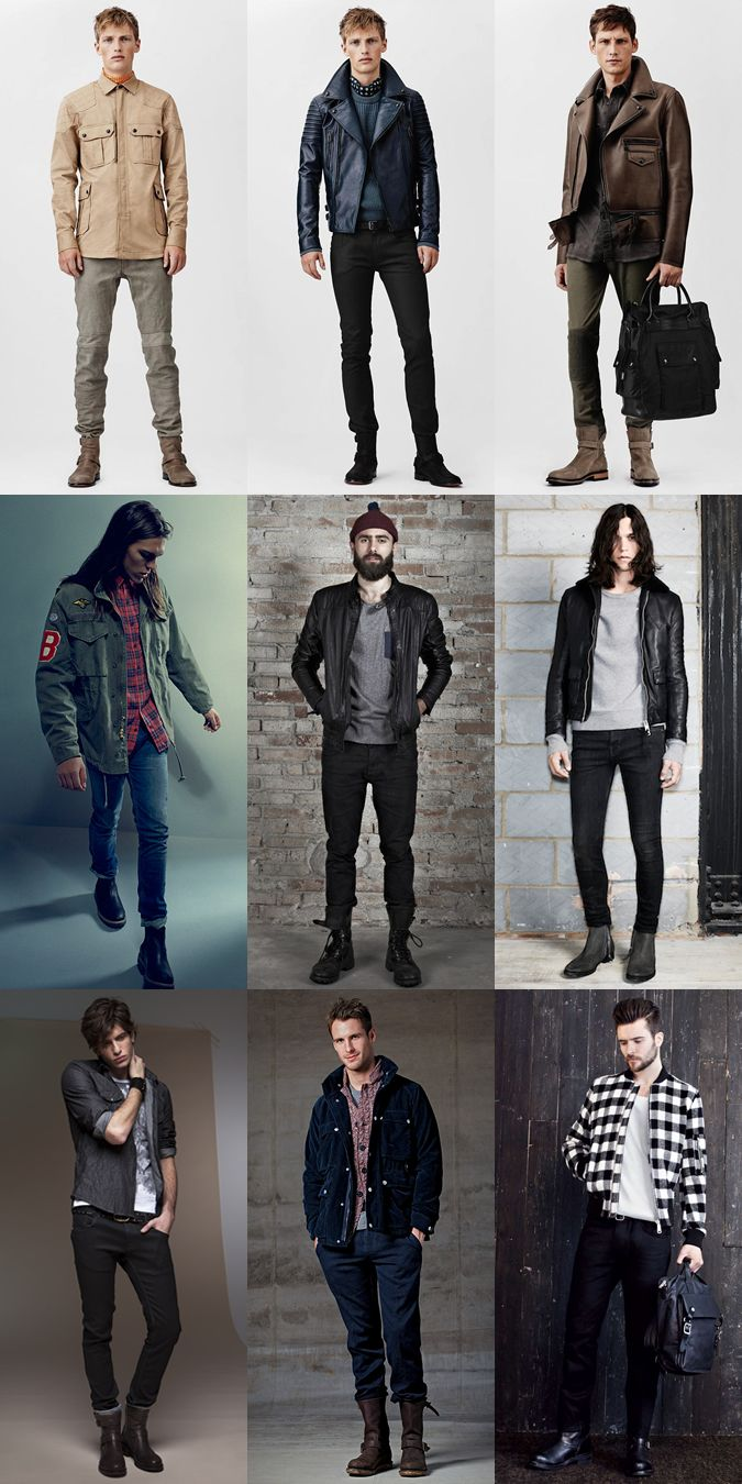 Men 39 S Biker Boots Lookbook Via Men 39 S Fashion Pinterest Biker Boots Mens