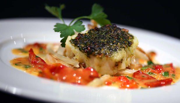 Ovnsbakt klippfisk inspirert av det portugisiske kjøkken – egnet for å imponere! #fisk #oppskrift