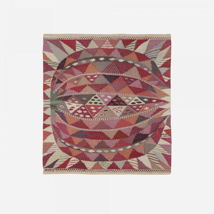 Ann-Mari Forsberg; Wool Weaving for Marta Maas-Fjetterstrom AB, c1945.