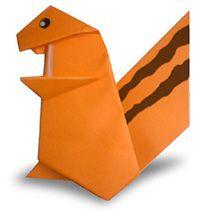 Origami Eekhoorn