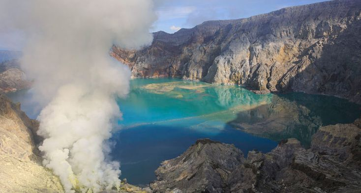 Eastern Java. Indonesia. Turquoise lake. Volcano. Beaches. Rice fields. Discover. See. Experience. InDaily.