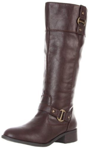 * Walking in Style * / Rampage Women?s Iben Riding Boot  2013 Fashion High Heels 