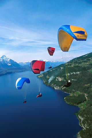 Next time I go to Interlaken, Switzerland I am definitely trying the parasailing.
