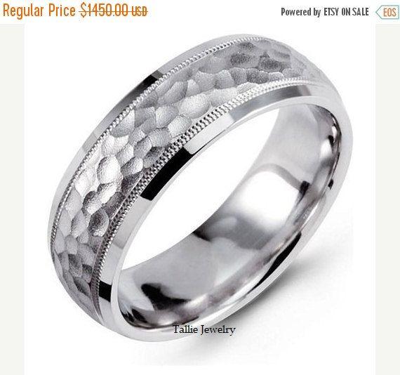 Simple Sale Mens Platinum Wedding Rings Womens