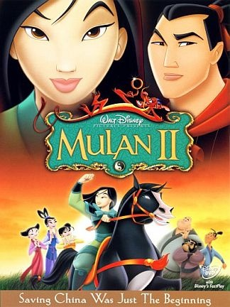 Day 28: Favorite Sequel - Mulan 2. It was actually a good movie, plus it has Sandra Oh in it!